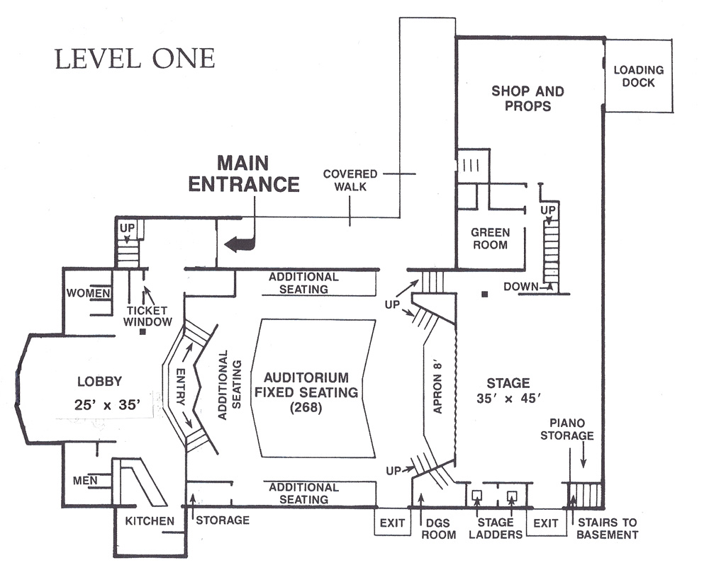 Floor plans dance studio joy studio design gallery for 1 level floor plans